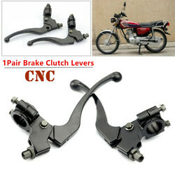 1 Pair Cnc Motorcycle Brake Clutch Lever Perch Drum Brake Models Fit For Auto