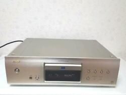 Denon Dcd-1500ae Sacd Player Power Supply Voltage 100v Working Good Used Vintage