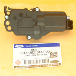 Rear Front Left Driver Side Power Door Lock Actuator Fit Ford F-250 Super Duty