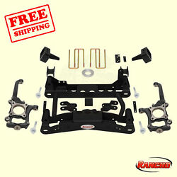 Suspension 4 Front And 2.5 Rear Lift Kit For 2010-2014 Ford F-150 Xlt 4wd Rancho
