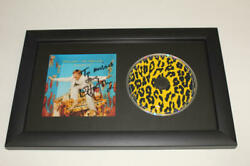 Elton John Signed Autograph One Night Only - Greatest Hits Framed Cd Display B