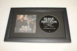 Blake Shelton Signed Autograph Reloaded Framed Cd Display - Country Music Stud