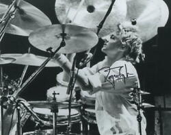 Roger Taylor Signed Autograph 8x10 Photo - Legendary Queen Drummer, Very Rare
