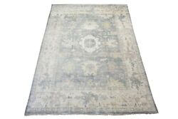 11x15 Antique Green Oushak Hand-knotted Wool Area Rug Carpet 11'1 X 15'3