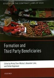 Formation And Third Party Beneficiaries By Mindy Chen-wishart 9780198808114