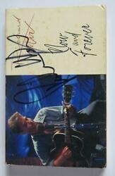 Richard Marx Signed Autograph Auto Now And Forever Cassette Tape