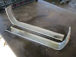64 65 Mustang Grille Grill Pony Corral Outer Trim Panels Oem Left Right Vry Nice