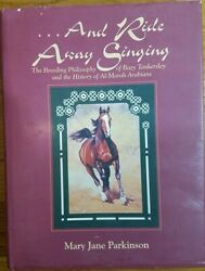 ...and Ride Away Singing By Mary Jane Parkinson - Hardcover