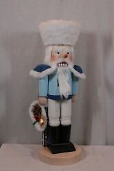 Rare Huge 31 Steinbach Father Frost Nutcracker S-1655 And Collector Book New