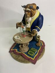 Super Rare Disney The Beast From Beauty And The Beast Snow Globe
