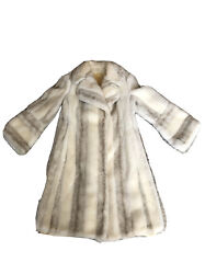 Vintage White And Grey Coat