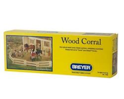 Breyer 7500 Wood Corral Add Onto Your Barn 11 Sections New In Box