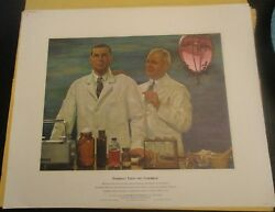 Vintage A History Of Pharmacy In Pictures By Parke Davis Set Of 40 Prints 1957