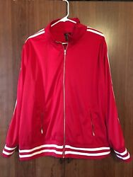 Rue+ Zip Up Women's Jacket Red Color 2x New With Tags
