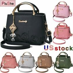 Women Lady Leather Handbag Messenger Satchel Shoulder Tote Crossbody Bags Purse $19.99
