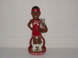 Lebron James Cleveland Cavaliers 2004 Bobblehead Rookie Of The Year Edition New
