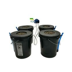 Deep Water Culture Hydroponic 4-plant System