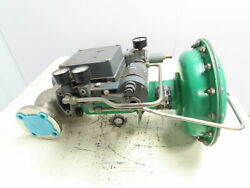 Fisher Type Cp 657 Sz 30 Pneumatic Diaphragm Actuator 582i 2 Stainless Valve