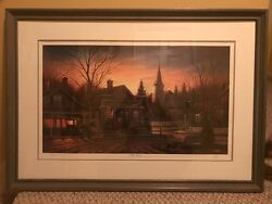 Terry Redlin Print Rare Sold Out Office Hours 6682/6800