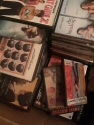 Huge Lot Of 2100 Used Assorted Dvd Movies....