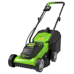 Greenworks Tools Battery Mower G24lm33 Li-ion 24v 33 Cm Cutting Width Up To ...