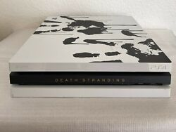 Death Stranding Ps4 Pro 1tb Limited Edition Console Only