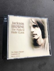 Jackson Browne Ct NC Vt 2002 Three CDr From My Collection selling Only One Set