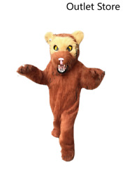 Halloween Wolf Bear Mascot Costume Cosplay Party Xmas Carnival Outifit Fursuit