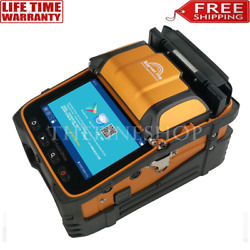 Ai-9 Optical Fiber Fusion Splicer 5and039and039 Screen Power Meter 850nm 1300nm 1625nm