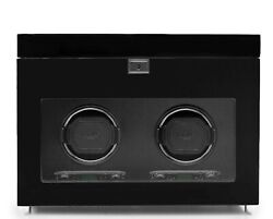 Wolf Savoy 454670 - Watch Winder For 2 Watches - With Glass Cover And Storage...