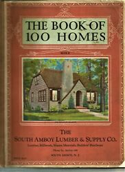 The Book Of 100 Homes...designs And Floor Plans...c1929