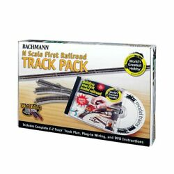Bachmann 44896 - Ez Track - Worldand039s Greatest Hobby First Railroad Track Pack ...