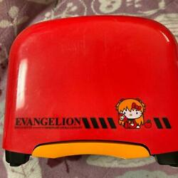 Hello Kitty X Evangelion Asuka Langley Pop-up Toaster Limited Model Ac100v Used