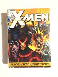 Marvel X-men Playing Cards52 Card Deck Aquarius Brand New Sealed