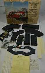 Ho Indianapolis Special By Marx Slot Car Racetrack 1960s Cib Tested Extra Car