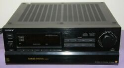Vintage Sony Str-gx80es Am Fm Stereo Receiver High End - Great Condition