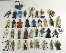 Star Wars Mix 3.75 Inch Figure Lot of 38 Vintage From 90s amp; Early 2000s