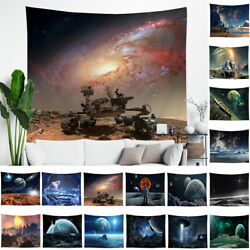 Galaxy Star Tapestry Wall Art Hippie Decor Home Bedroom Wall Hanging Throw