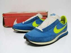 Nike Elite Made In 1981 Vintage Sneakers Eb/y Blue Yellow Size Us10 Men's Shoes