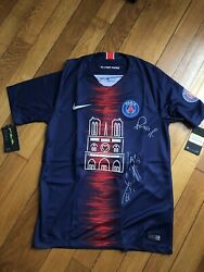 Psg Notre Dame Jersey 18/19 S Small Signed Collector [only 1000 Worldwide]