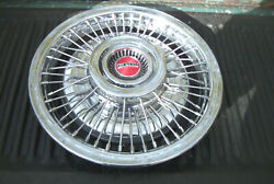 Oe Vintage 15 Inch 69-70 Pontiac Wire Wheelcover 5020 Nice Sunday Driver Qlty