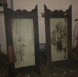 Rare Antique Saloon Doors From The 18th Century Scarce Architectural And Garden