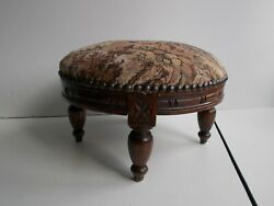 Antique Foot Stools, English, Victorian Style