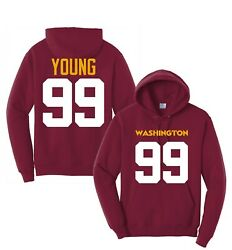 Chase Young Football Hoodie Ys-3xl,customize Any Name,number,washington, Jersey