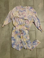 Young Fabulous And Broke Lounge Wear Weekender Jogger And Juliette Sweater Xs