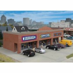 Walthers Cornerstone 933-4115 - Modern Shopping Center I - Ho Scale