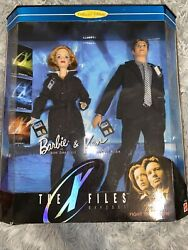 Barbie 1998 The X Files Gift Set Vintage Barbie And Ken As Scully And Mulder New