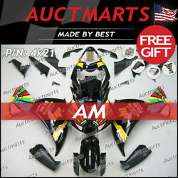 For Yamaha Yzf-r1 2012-2014 Fairing Bodywork Abs Red Green Blue Yellow 4k21 Ps