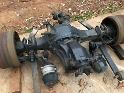 2009-2016 Freightliner Cascadia 125 Front And Rear Axels Ratio 3.41