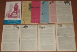 1964-1993 N. Flayderman And Co. Antique Firearm Edged Weapons Catalog Lot Of 97